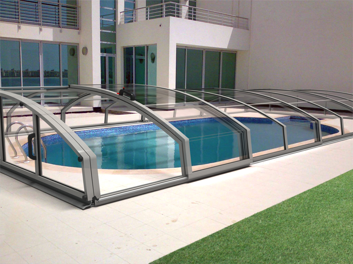 ACOPERIRI PISCINE CASABLANCA INFINITY A IDEALCOVER - Imagine