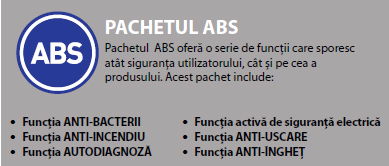 Boiler electric Ariston VELIS - Pachetul ABS
