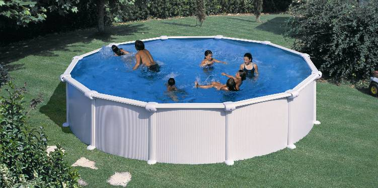 piscina supraterana rotunda dream pool diametru 460